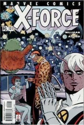 Origin and First Appearance, Spike, X-Force #121, Marvel Comics, 2001. Click for value