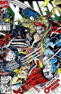 X-Men v2 #5, 1st Maverick (Christopher Nord). Click for values