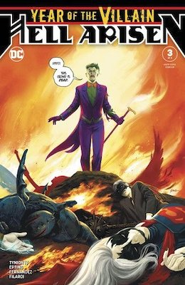 Year of the Villain: Hell Arisen #3, 2nd Punchline. Click for values