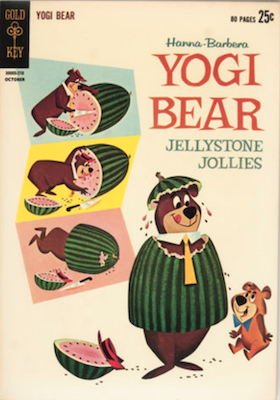 Yogi Bear #10 (Gold Key, 1962), Previously published by Dell. Click for values