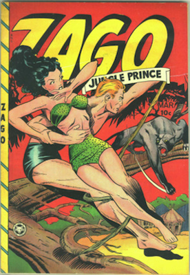 Zago Jungle Prince #4. Matt Baker cover, click for values