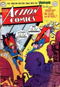 SuperGirl Comics: Lois Lane gets superpowers in Action Comics 156