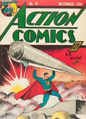 Action Comics #19. Click for value