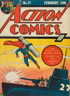 Action Comics #21. Click for value