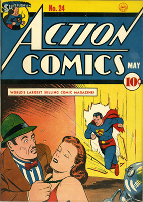 Action Comics #24: Click for value