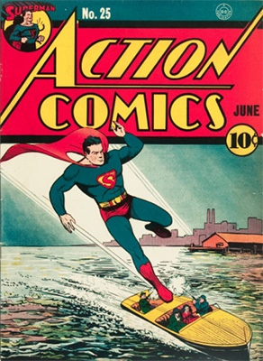 Action Comics #25. Click for value