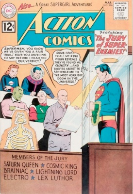 Action Comics #286, Superman Revenge Squad, first appearance. Click for values