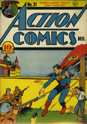 Action Comics #31. Click for values