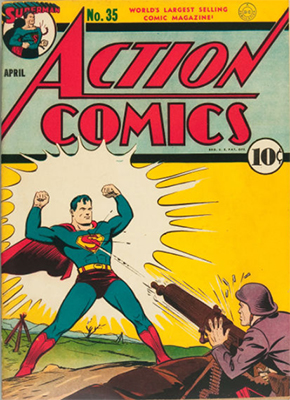Action Comics #35. Click for values