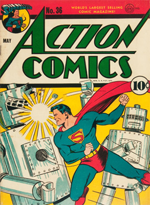 Action Comics #36. Click for values