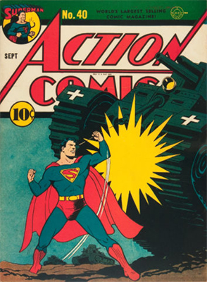 Action Comics #40. Click for values