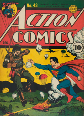 Action Comics #43. Click for value