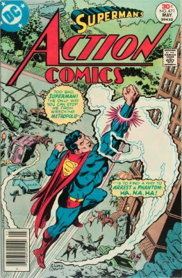Origin and First Appearance, Faora, Action Comics #471, DC Comics, 1977. Click for value