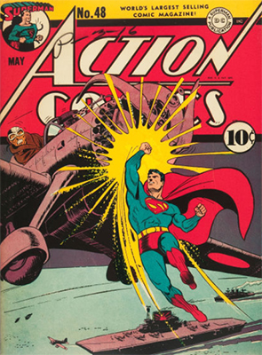 Action Comics #48. Click for value