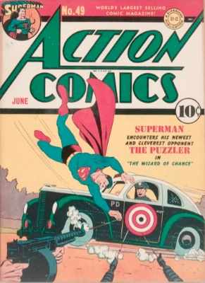 Origin and First Appearance, Puzzler, Action Comics #49, DC Comics, 1942. Click for value