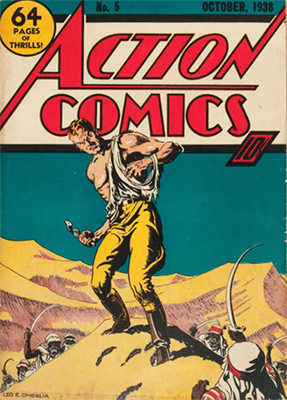 Action Comics #5: 5th appearance of Superman. Scarce. Click for values