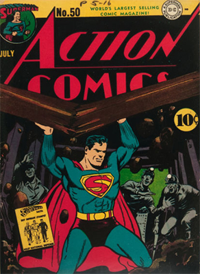 Action Comics #50. Click for value