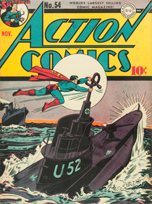 Action Comics #54. Click for value