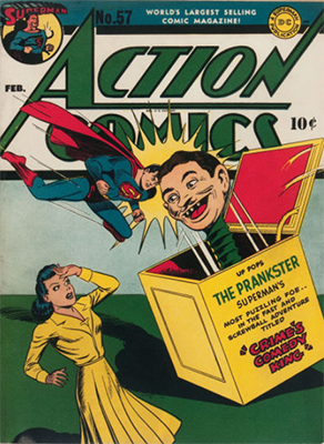 Action Comics #57. Click for value