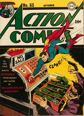 Action Comics 65. Click for value