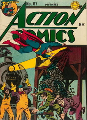 Action Comics 67. Click for value