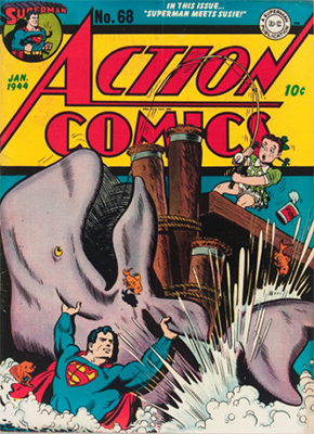 Action Comics 68. Click for value