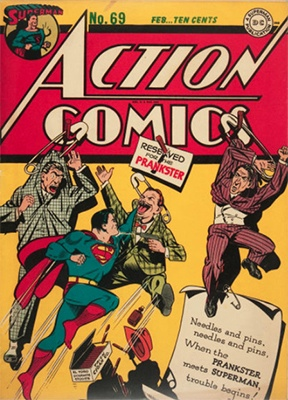 Action Comics 69. Click for value