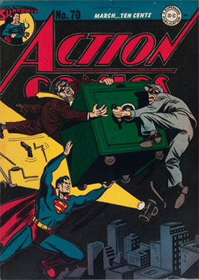 Action Comics 70. Click for value
