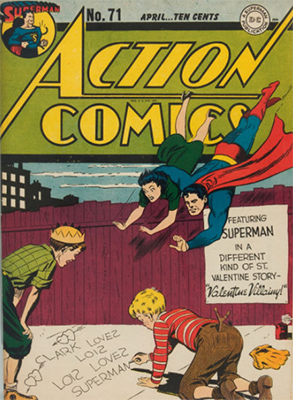 Action Comics 71. Click for value