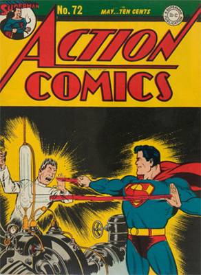 Action Comics 72. Click for value