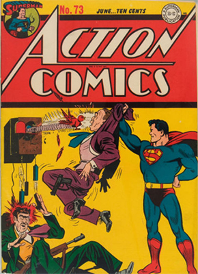 Action Comics 73. Click for value