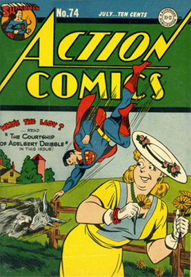 Action Comics 74. Click for value