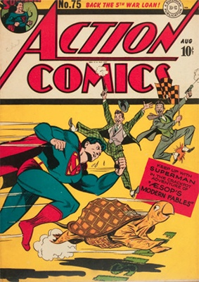 Action Comics 75. Click for value