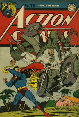 Action Comics 76. Click for value