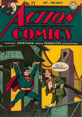 Action Comics 77. Click for value