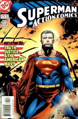 Origin and First Appearance, Manchester Black, Action Comics #775, DC Comics, 2001. Click for value