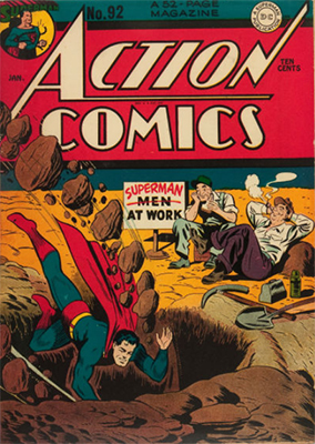 Action Comics 92. Click for value