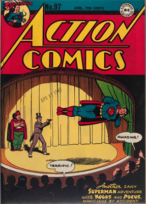 Action Comics 97. Click for value