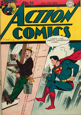 Action Comics 98. Click for value