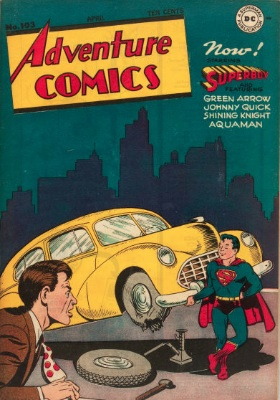 Adventure Comics #103: Superboy Takes Over. Click for values