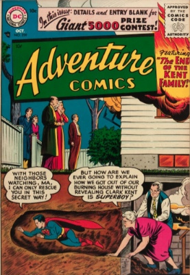 Adventure Comics #229: First Silver Age Appearance of Aquaman. Click for values