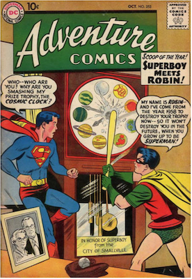 Adventure Comics #253. Click for current values.