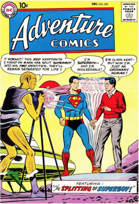 Adventure Comics #255. Click for current values.