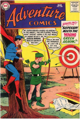 Adventure Comics #258. Click for current values.