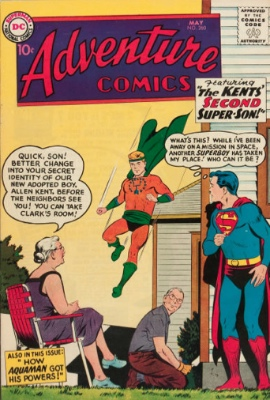 Adventure Comics #260: Origin of Aquaman's Powers. Click for values