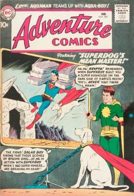 Origin and First Appearance, Aqualad, Adventure Comics #269, DC Comics, 1960. Click for value