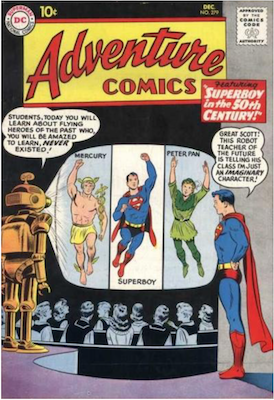 Adventure Comics #279. Click for current values.