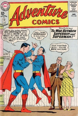 Adventure Comics #304 Death of Lightning Lad