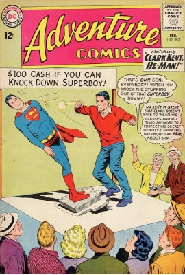 First Marvel Lad in Adventure Comics #305. Click for value