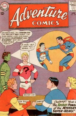 Adventure Comics #307 Mystery Lad. Click for value